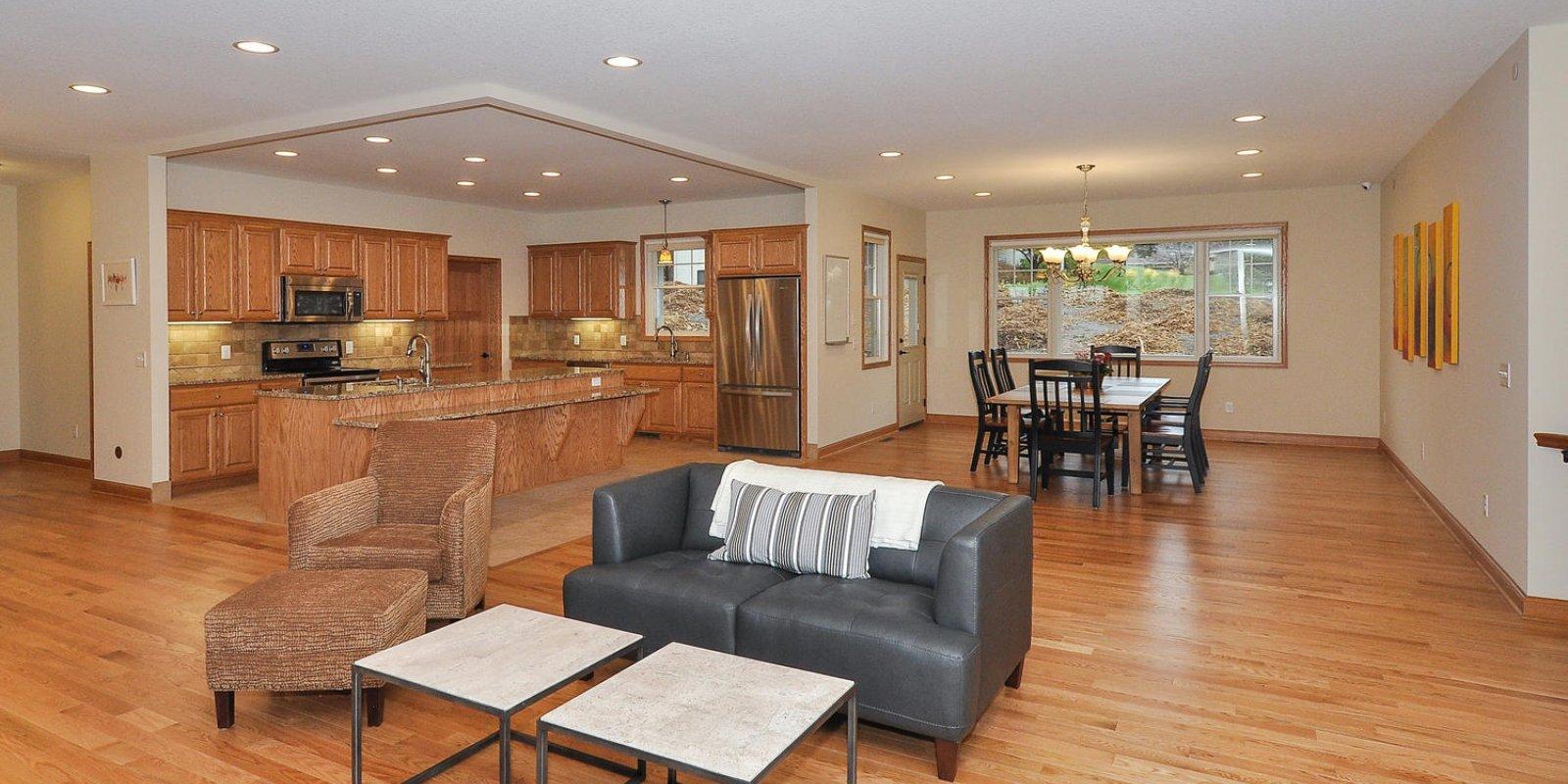 Heart to Home Hilltop Manor Gourmet Kitchen